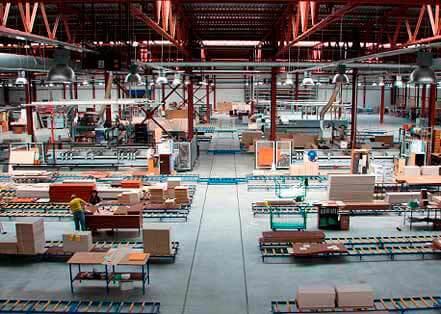 Фабрика по производству кухонной мебели