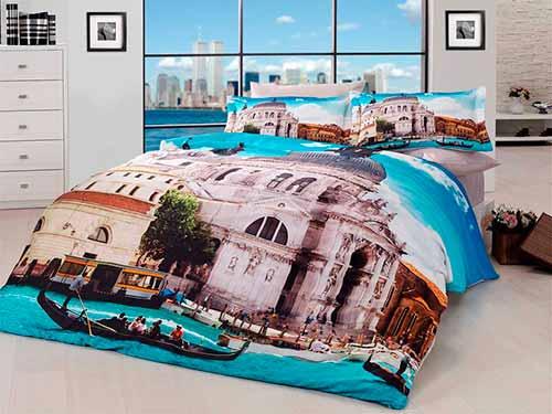 Комплект белья должен сочетаться с дизайном спальни